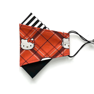 hello kitty - plaid | masks