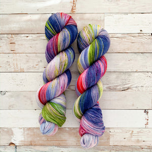 blooming bluebells | 4-ply sock