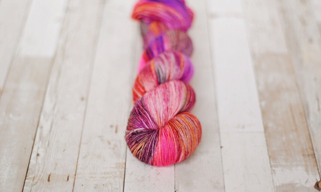 flash bang pow | 4-ply sock
