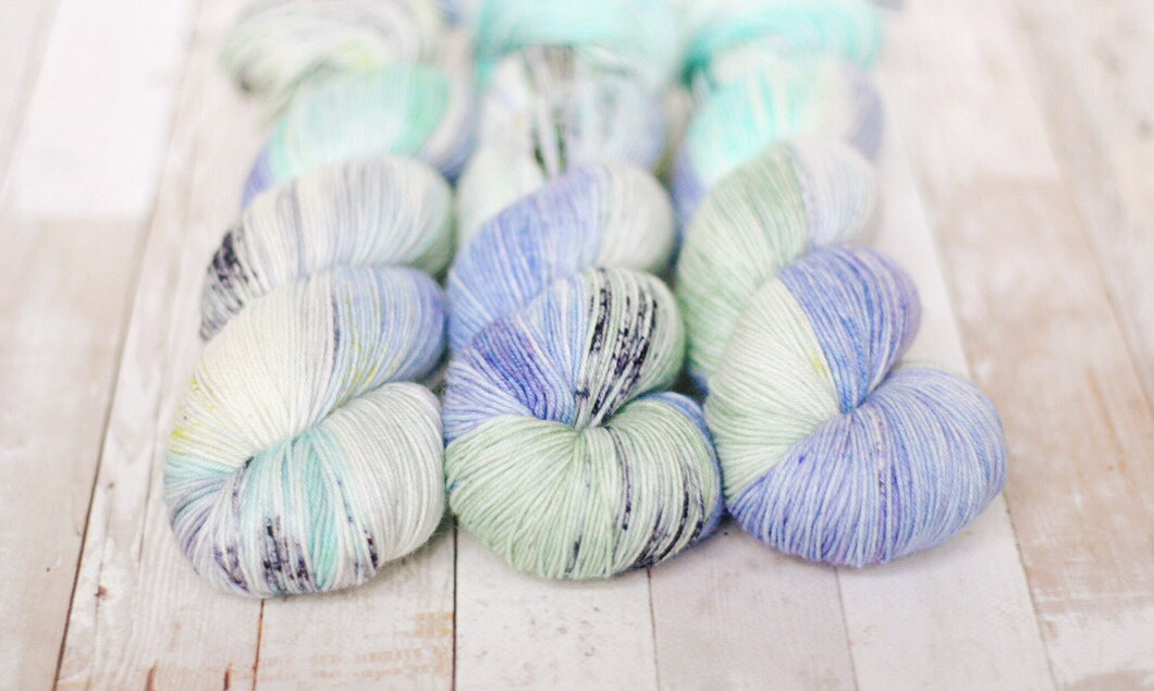 april showers | 4-ply sock