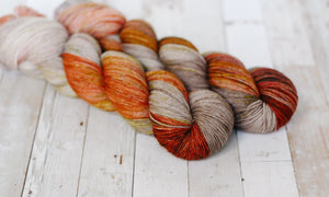 autumn crisp | 4-ply sock