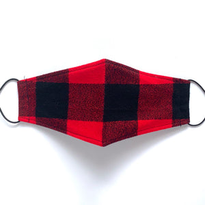 buffalo plaid flannel | masks
