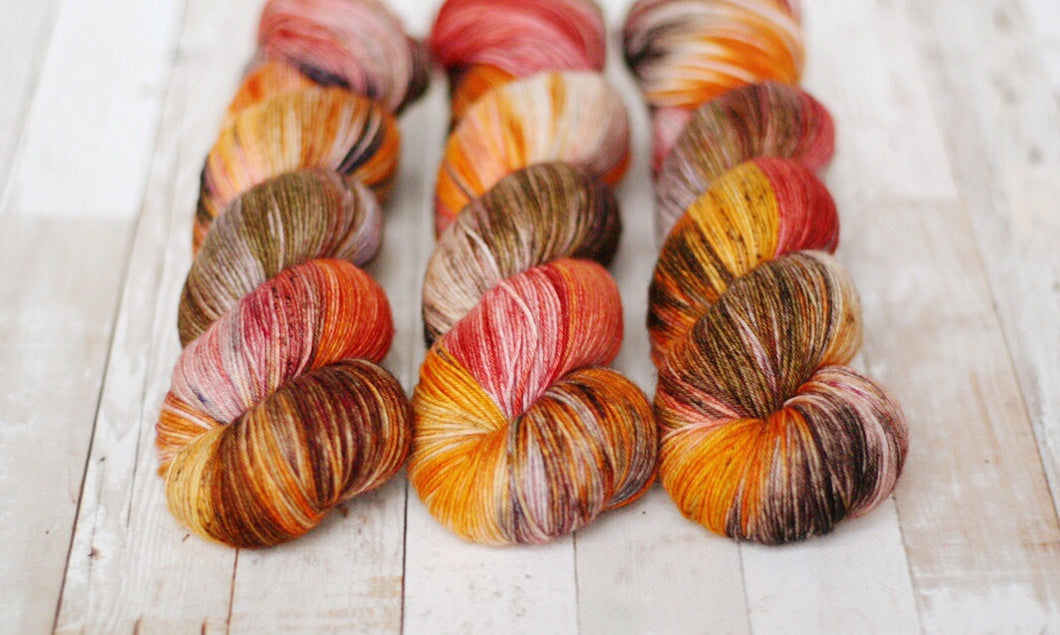 calico | 4-ply sock