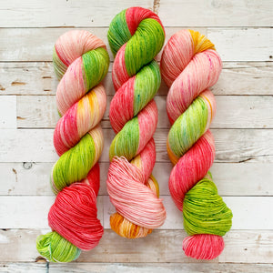 wallflower | 4-ply sock