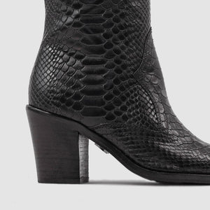 Botas New-Americana Low Black Snake