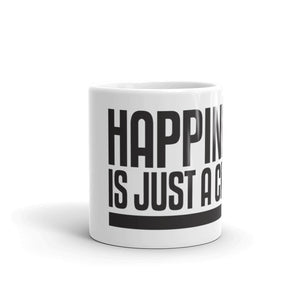 "Original ""Happiness is just a choice.com"" Mug"
