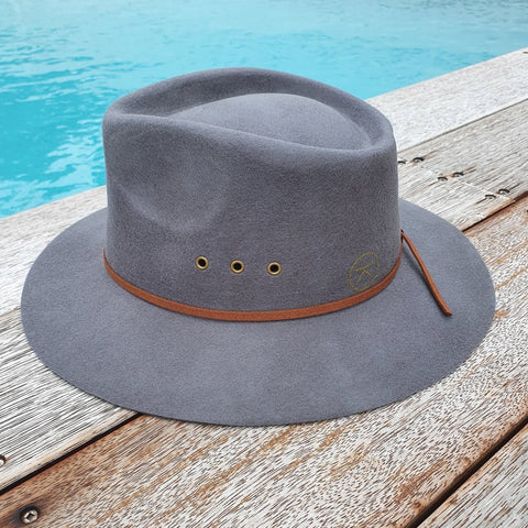 'THE SHACK' Fedora - Slate