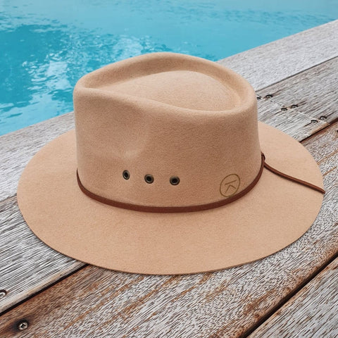 'THE SHACK' Fedora - Beige