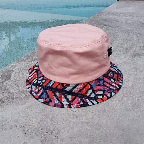 'THE RETRO' Bucket Hat - Pink