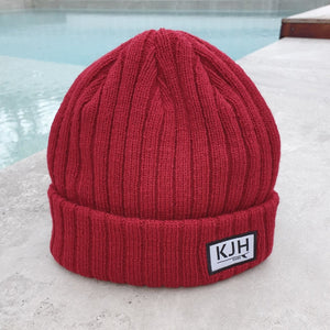'THE BELLS BEACH' Beanie - Maroon