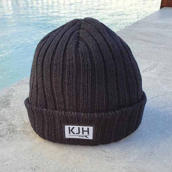 'THE BELLS BEACH' Beanie - Black