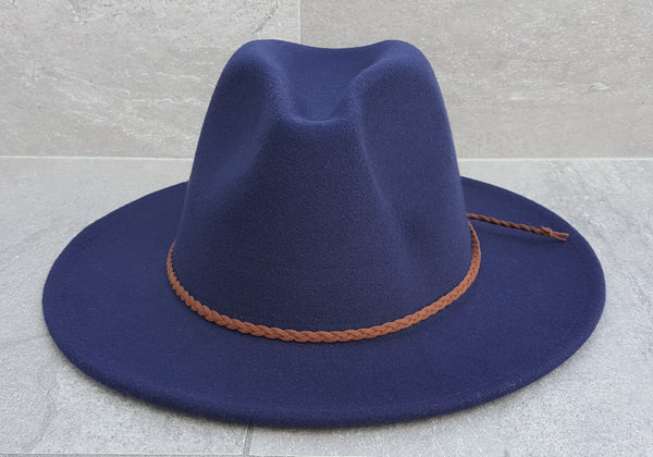 'FINGAL BEACH' Fedora - Navy