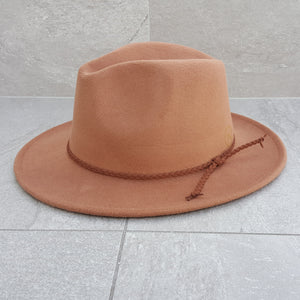 'FINGAL BEACH' Fedora - Tan