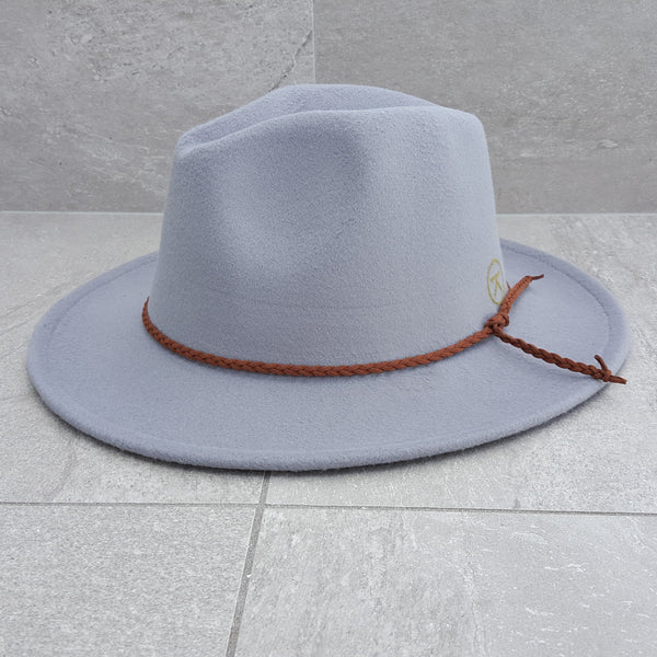 'FINGAL BEACH' Fedora - Grey