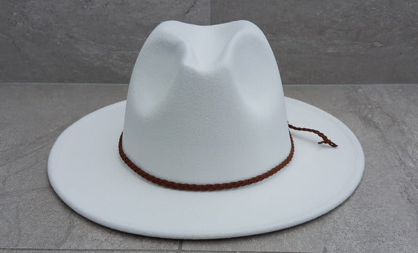 'FINGAL BEACH' Fedora - White