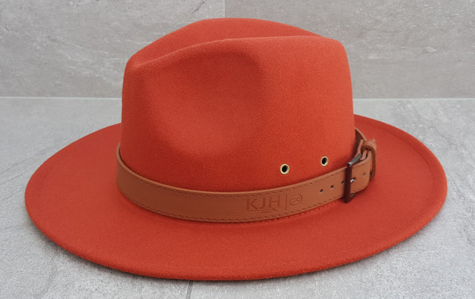 'REEF BREAK' Fedora - Rusty Orange