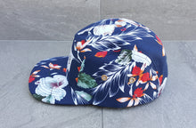 Load image into Gallery viewer, 'THE KALANNI' 5 Panel - Hibiscus Blue