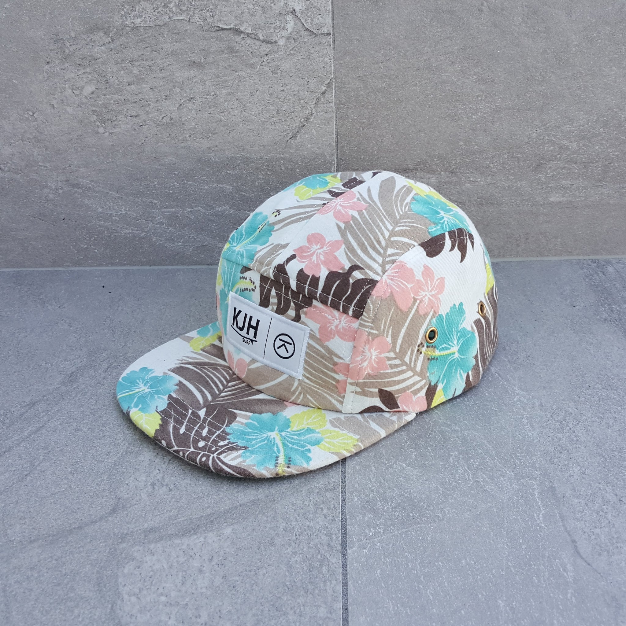 'THE KALANNI' 5 Panel - Hibiscus Summer ON SALE