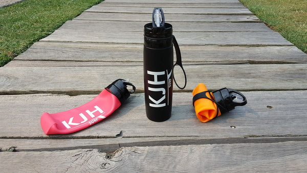 THE TRAVELLER - KJH Silicone Drink Bottle