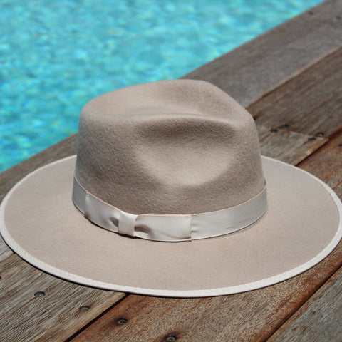 'BURLEIGH BEACH' Fedora - Beige ON SALE