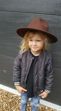 Load image into Gallery viewer, 'FINGAL BEACH' Fedora - Brown