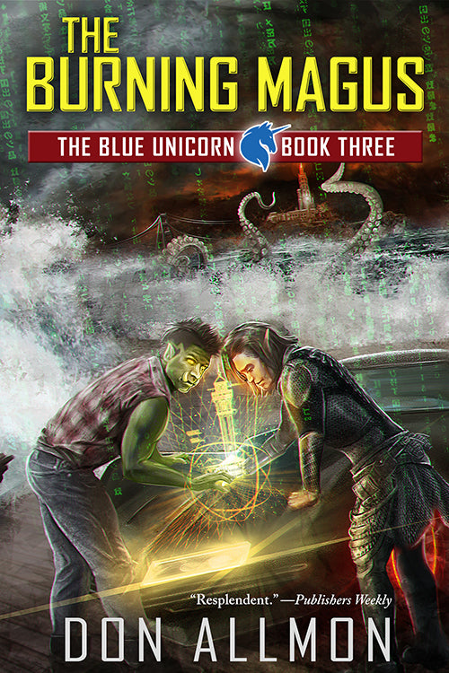 The Burning Magus (A Blue Unicorn Novel)