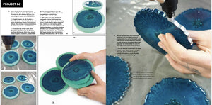 RESIN GEODE ART -BUCH (German)