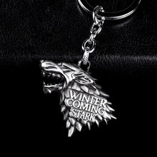 Load image into Gallery viewer, WINTER IS COMING KEYCHAIN