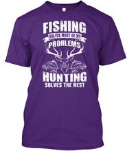 Load image into Gallery viewer, FISHING AND HUNTING T-SHIRT