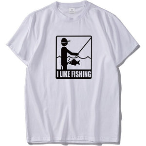 I LIKE FISHING T-SHIRT