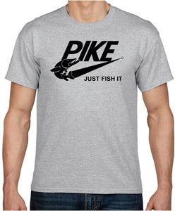 PIKE JUST FISH IT T-SHIRT