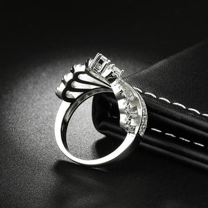 'Queen' Crown Ring