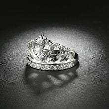 Load image into Gallery viewer, 'Queen' Crown Ring