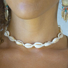 Load image into Gallery viewer, Shell Choker Necklace