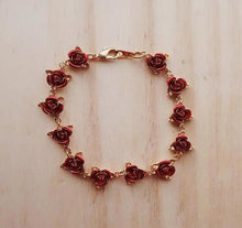 Load image into Gallery viewer, Dozen Roses Bracelet