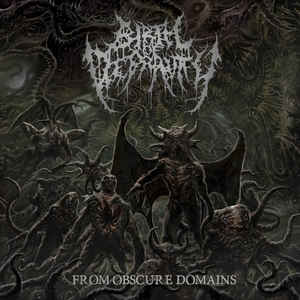 BIRTH OF DEPRAVITY - From Obscure Domains CD