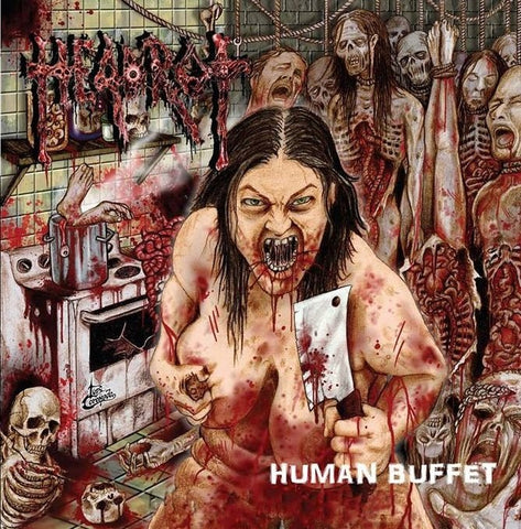 HEADROT - Human Buffet CD