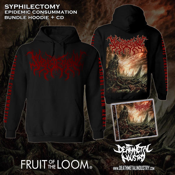 SYPHILECTOMY - Epidemic Consummation (Bundle Hoodie + CD)