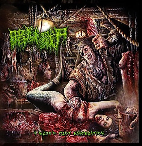 THE DARK PRISON MASSACRE - A Blood Clot Ejaculation CD