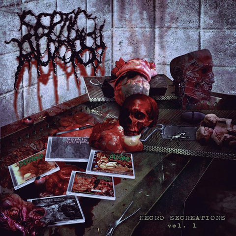 SEPTIC AUTOPSY - Necro Secreations Vol.1 CD