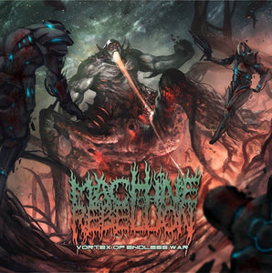 MACHINE OF REBELLION - Vortex of Endless war CD