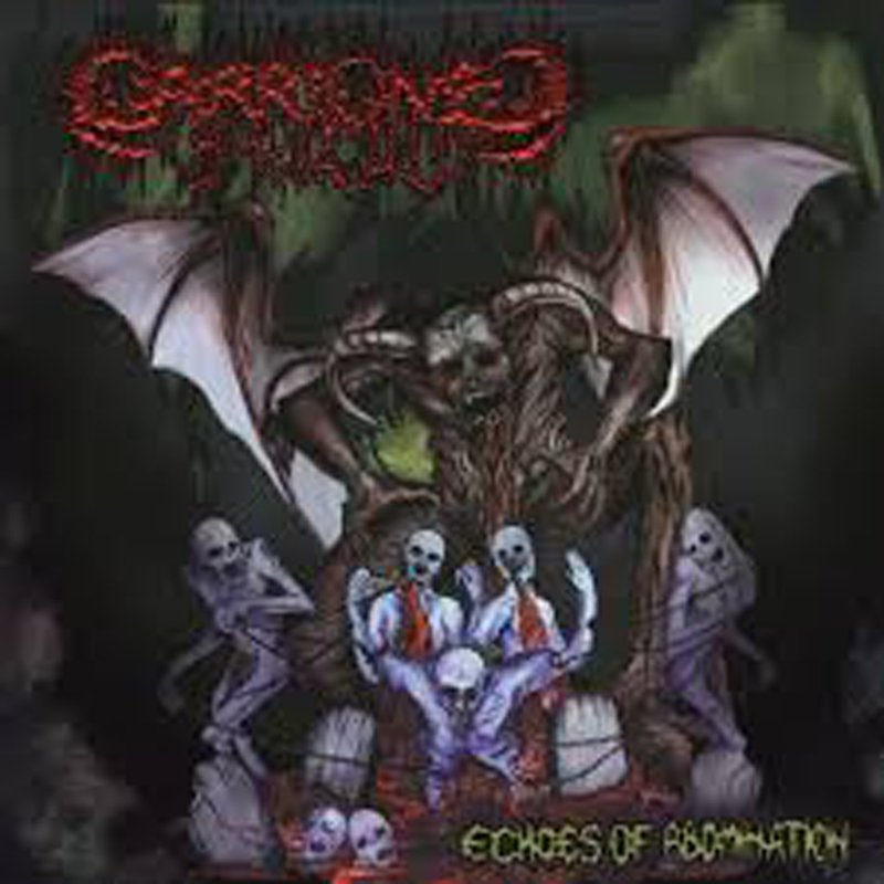 CARRIONED - Echoes of Abomination CD