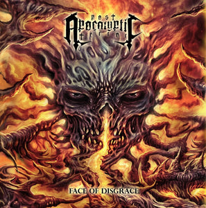 POST APOCALYPTIC TERROR - Face of Disgrace CD