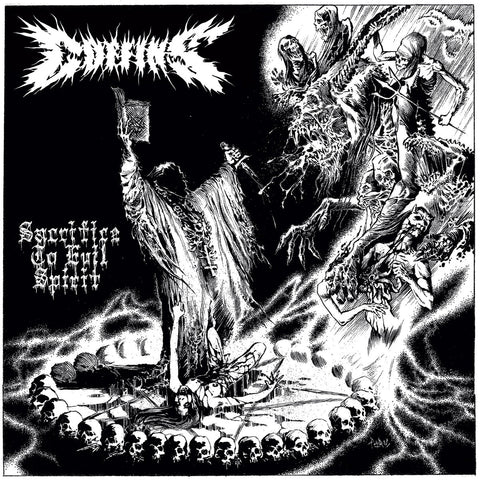 COFFINS - Sacrifice To Evil Spirit (2LP, White)