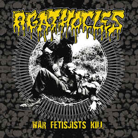 AGATHOCLES / PSYCHONEUROSIS - War Fetisjists Kill / Grind Ressurection CD*