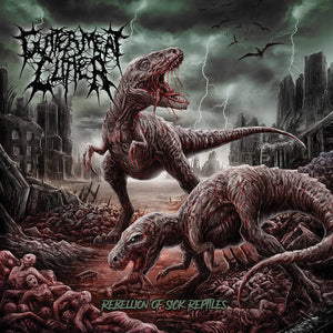 GUTTER MEAT CLITTER - Rebellion of Sick Reptiles MCD*
