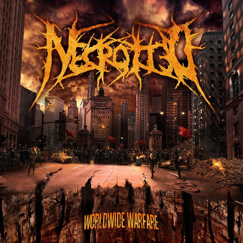 NECROTTED - Worldwide Warfare CD