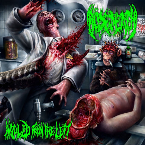BÖSEDEATH - Impaled from the Left CD