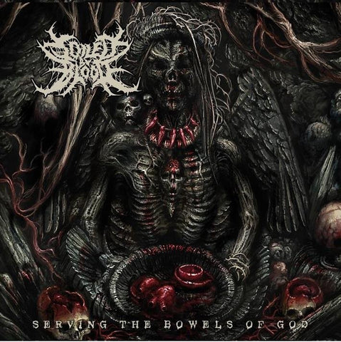 SOILED BY BLOOD - Serving the Bowels of God CD
