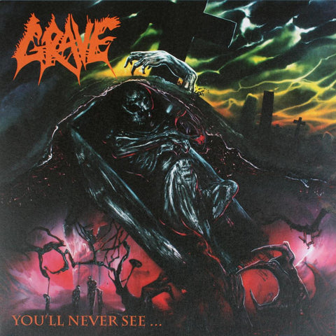 GRAVE - You ll Never See CD